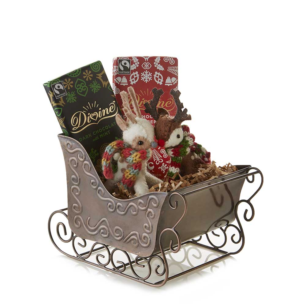 Sleigh Ride Gift Basket
