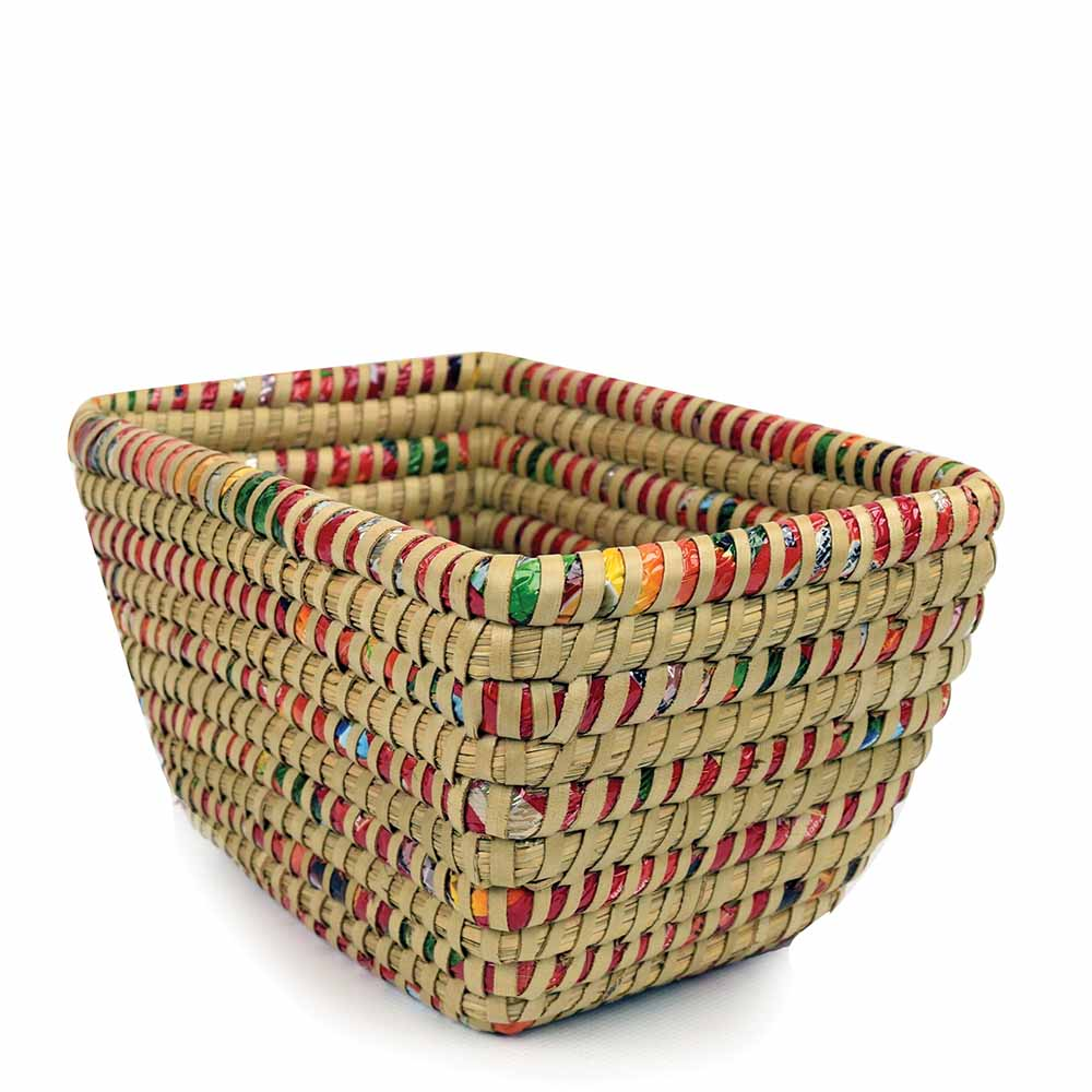 Candy Wrapper Basket
