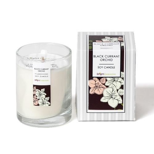 Black Currant Orchid Candles