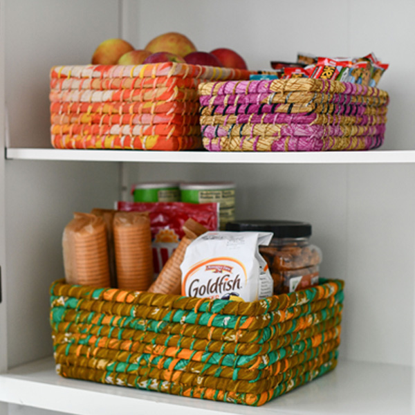 Get Organized! Combat Clutter with Fair Trade Baskets