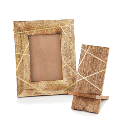 Kala Wooden Photo Frame & Phone Stand Offer