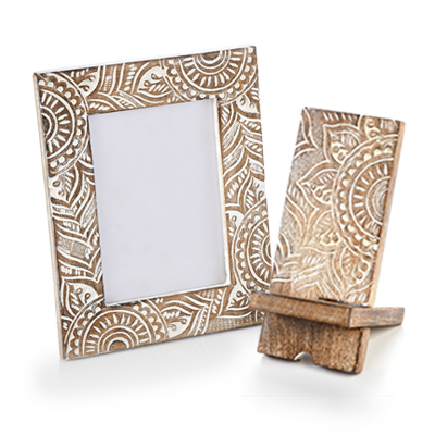 Mandala Photo Frame & Phone Stand Offer