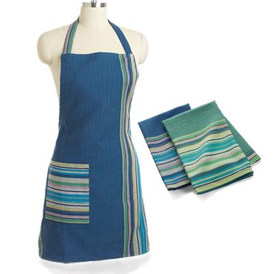 Blueberry Apron & Garden Stripe Towels Offer