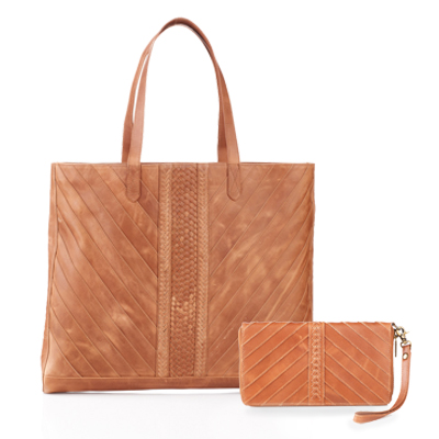Riya Leather Tote & Wallet Offer