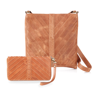 Riya Leather Crossbody Bag & Wallet Offer