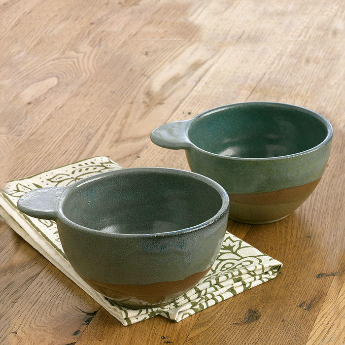 Landscape Series Tabbed Bowls Set of 2