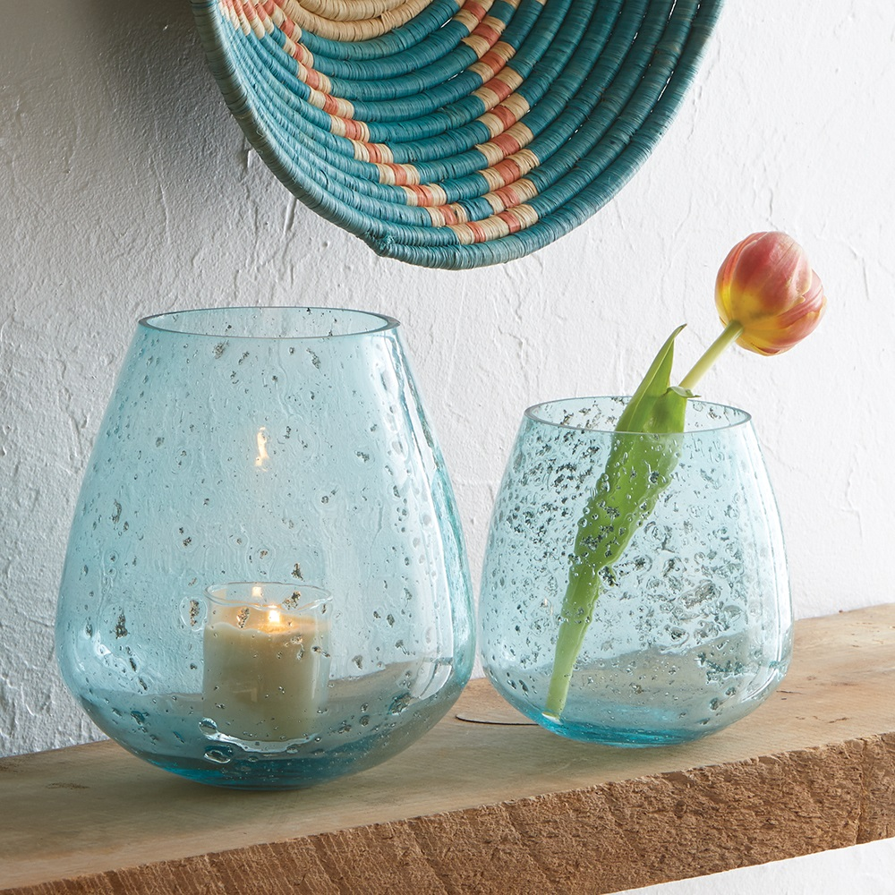 Jodhpur Blue Round Bubble Vases