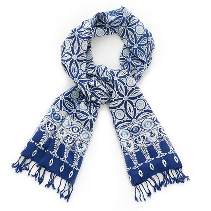 Blue Beauty Scarf
