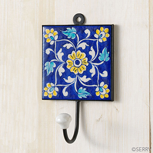 Yellow Flowers Wall Hook