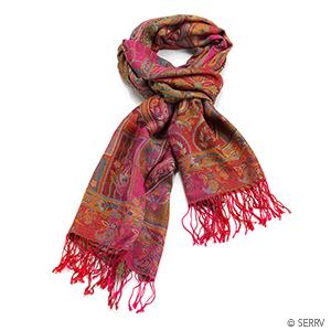 Pink Jamawar Kashmiri Shawl