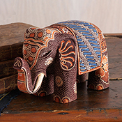 Batik Brown Elephant