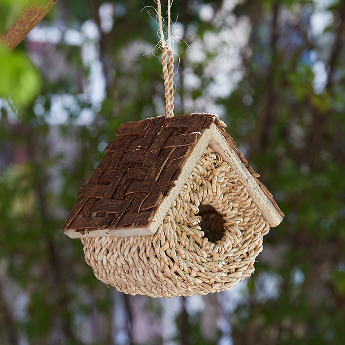 Basket Bird House