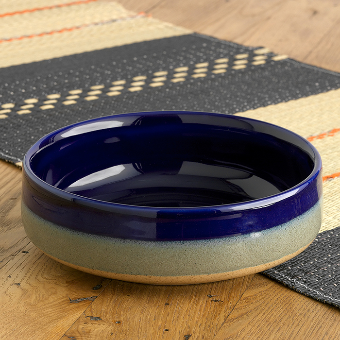 Farmhouse Tricolor Serving Bowl