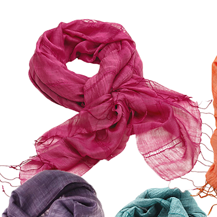 pack of 12 spring scarves