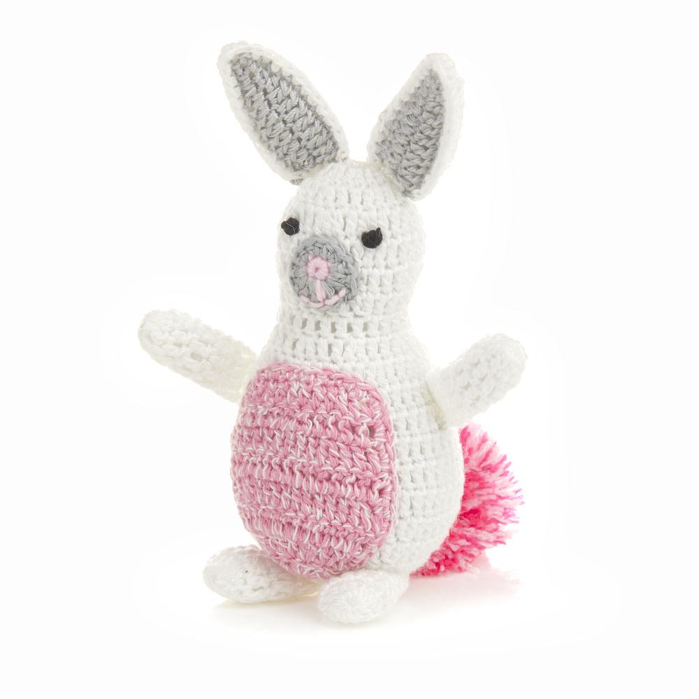 Pink Pom Bunny