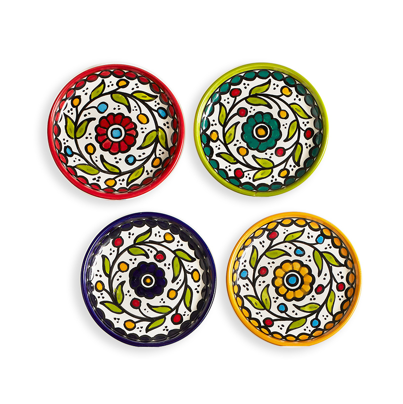 West Bank Appetizer Plates - Set of 4