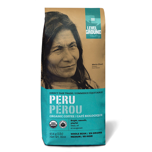 Organic Peruvian Medium Roast Coffee- Whole Bean or Ground