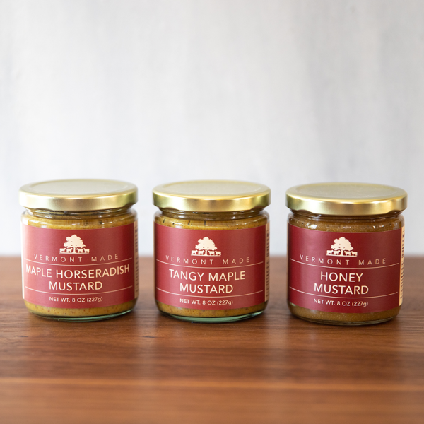 Set of Three Mustards