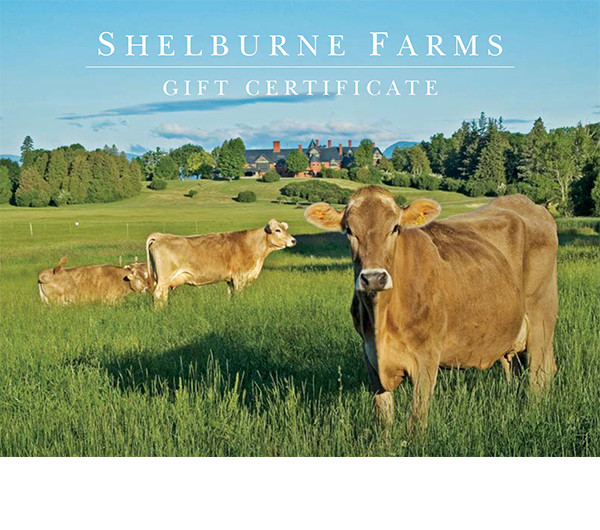 Shelburne Farms Gift Certificate
