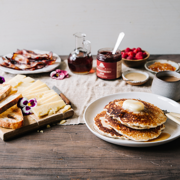 Samplers with Maple Syrup