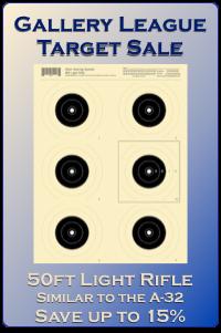 Gallery League Sale - 50ft Light Rifle