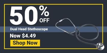 STETHOSCOPE, DUAL HEAD, EA