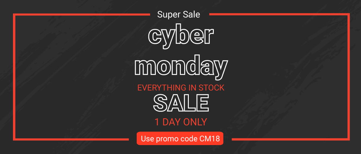 Up to XX% OFF during our Cyber Monday Sale