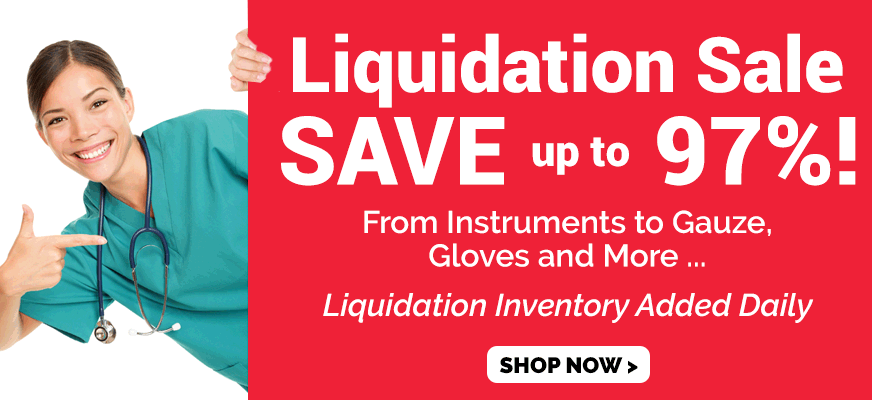 Up to 97% off Liquidation Products
