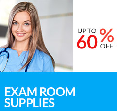 Up to 60% off Exam Room Supplies