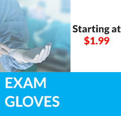 Exam Gloves as Low As $2.99