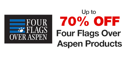 Up to 70% OFF Four Flags Over Aspen Products
