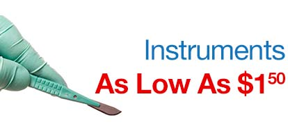 Instruments as low as $1.50