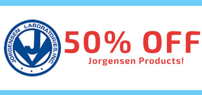 50% Off JorgensenProducts