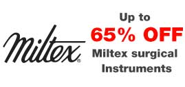 Up to 65% Off Miltex Surgical Instruments