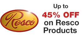 Up to 45% Off Resco Products