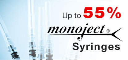 Up to 55% OFF Syringes