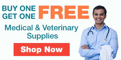 Buy one get one free medical supplies