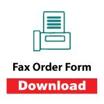 Download Fax Order Form