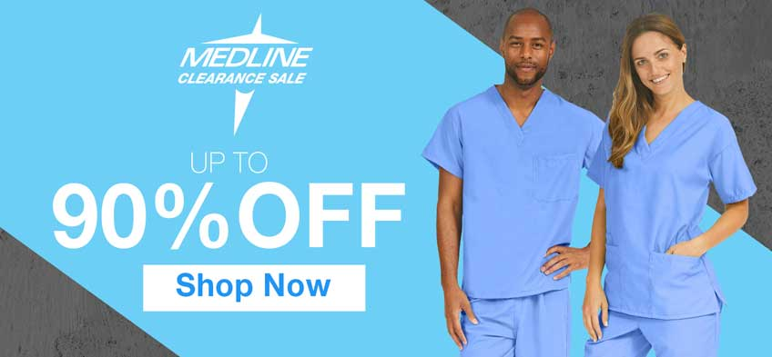 Up to 90% off clearance Medline products