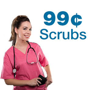 99 cent scrubs