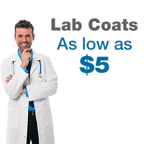 Lab Coats as low as 5 dollars