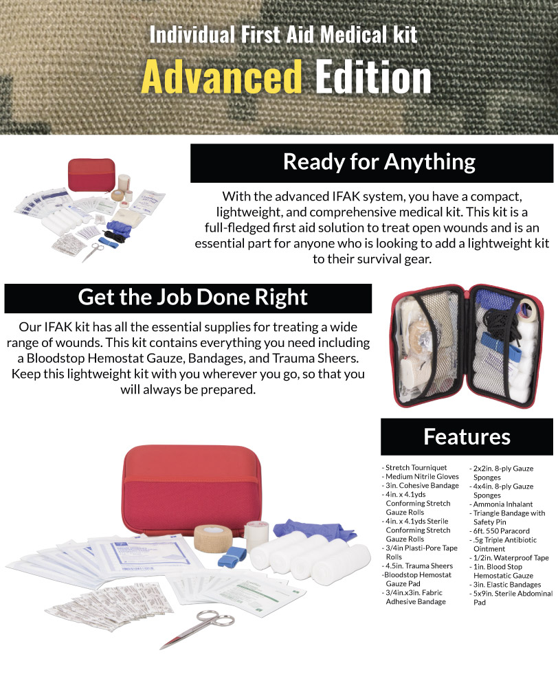 Advanced IFAK Kit Features