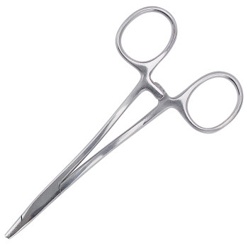 "NEEDLE HOLDER,DERF,4.75"" SATIN ECONOMY"