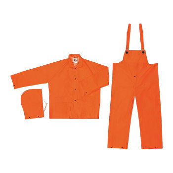 RAINWEAR,3 PIECE,ORANGE, SIZE 2X, SET