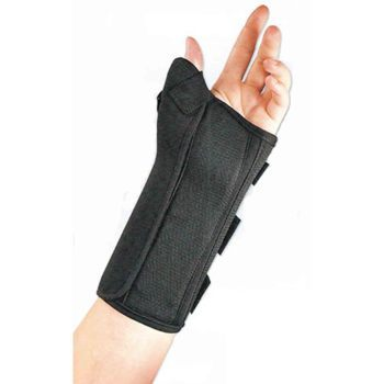 SPLINT,WRIST,ABDUCT THUMB,FLA ORTHO,BLACK,LEFT,LARGE