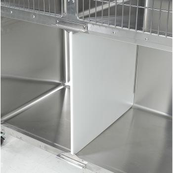 "CAGE, SS, VSSI, DIVIDER KIT, CENTER, FOR 48"" x 30"" DOUBLE DOOR CAGE, W/GRAVITY LATCH"