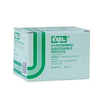 NEEDLE,21 X 1, 100/BX, EXEL