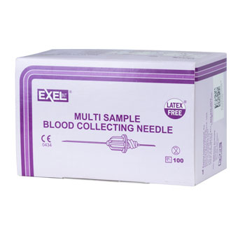 NEEDLE,22X1.5, MULTI SAMPLE, 100/BX, EXEL