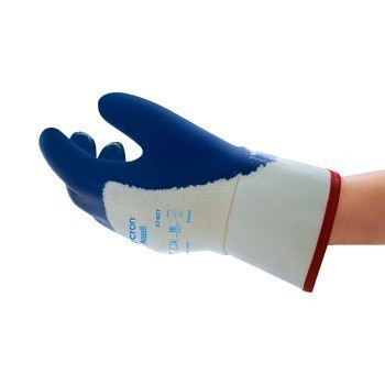 Ansell Hycron Nitrile Coated Work Gloves, Size 9, 27-607, Pair