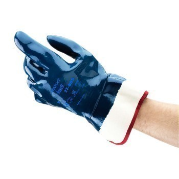 Ansell Hycron Nitrile Coated Work Gloves, Size 9, 27-805, Pair